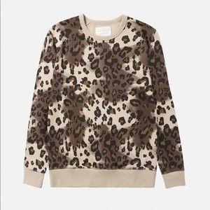 Five Four Leopard Barron Sweater - NWT